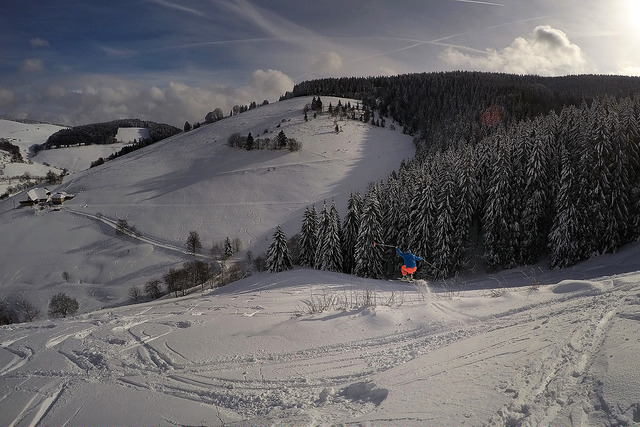 Skilifte Münstertal 31-01-2015
